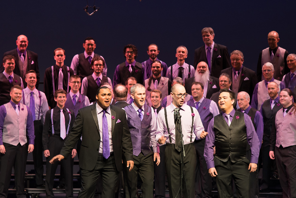 Barbershop performance in denver