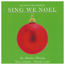 """Sing We Noel"" album cover"