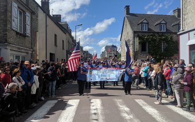 Sound of the Rockies makes its mark in Normandy